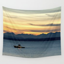 Sunset Patrol Wall Tapestry