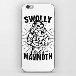 Swolly Mammoth  iPhone Skin