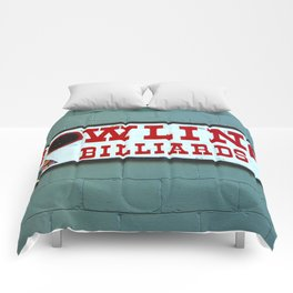 bowling n billiards  Comforters