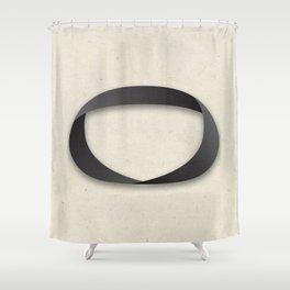 Möbius strip Shower Curtain