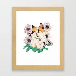 Girasol Framed Art Print