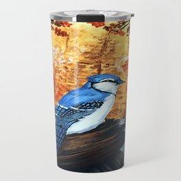 Blue Jay Life Travel Mug