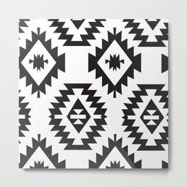 American Native Pattern No. 63 Metal Print