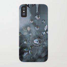 snowflake monochrome iPhone Case