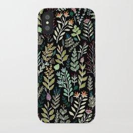 Dark Botanic iPhone Case