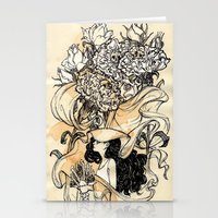 virgo Stationery Cards featuring Virgo by Anna Rosenfeld