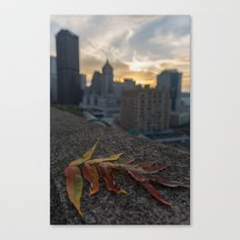 Fall in Pittsburgh Canvas Print