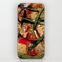 cooking iPhone & iPod Skins featuring Vegetables Cooking by Cassie Blair