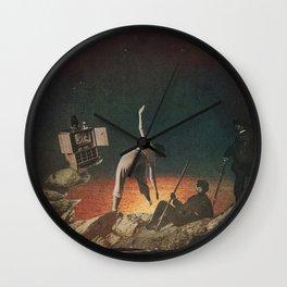 Galactic Exercise Wall Clock
