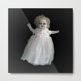 Zombie Doll. Metal Print