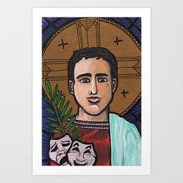 Genesius of Rome Art Print