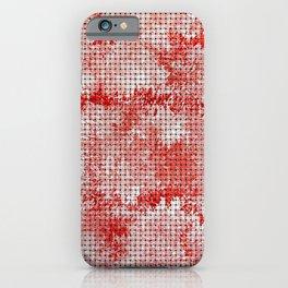 Turkish Rose Weave Pattern iPhone Case