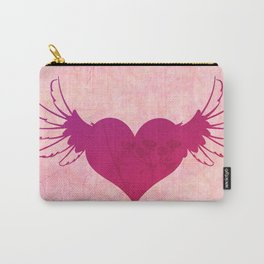 Winged Heart Carry-All Pouch