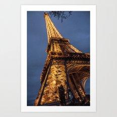 Eiffel Tower (Paris) Art Print