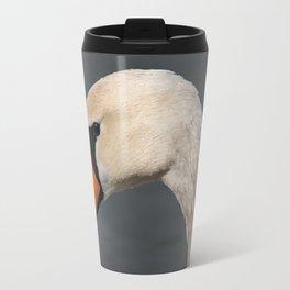 Mute Swan in Winter Travel Mug