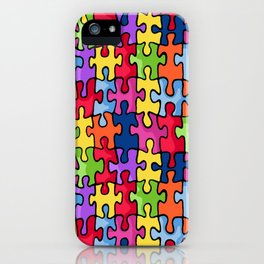 Jiggy puzzle iPhone Case