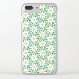 Edelweiss On Repeat Clear iPhone Case