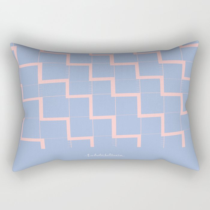 BLUEZIGZAG Rectangular Pillow