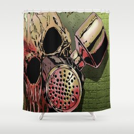 Code Red Shower Curtain