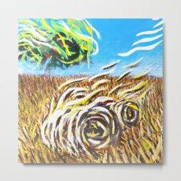 Prairie Landscape - Farm Landscape Metal Print