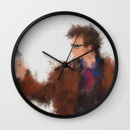 The Tenth Doctor Wall Clock