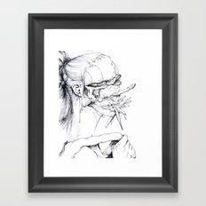 6 pieces_4 Framed Art Print