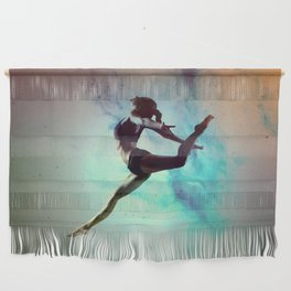 Ballet Dancer Feat Lady Dreams Abstract Art Wall Hanging