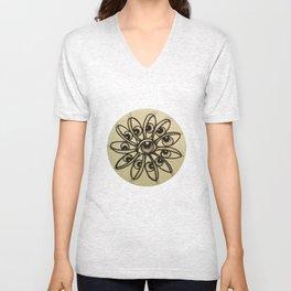 Eye Flower Unisex V-Neck