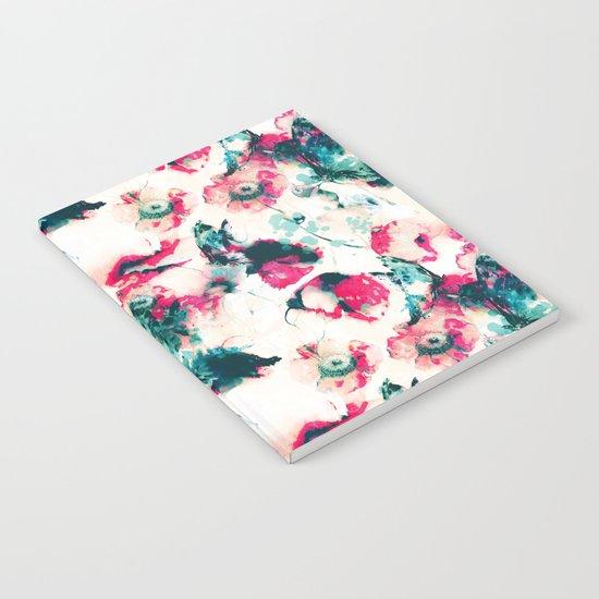 Poppies & Butterflies Notebook