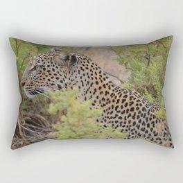 Leopard in the Wild Rectangular Pillow