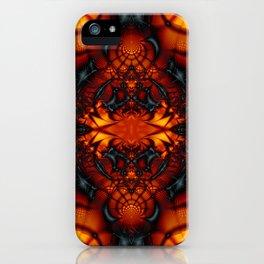 Fractal Art - Devil I iPhone Case
