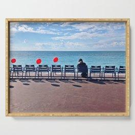 Go d'Azur Promenade des Anglais Serving Tray