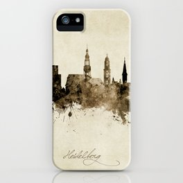 Heidelberg Germany Skyline iPhone Case