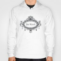 bar Hoodies featuring Bar Wench by Andrea Jean Clausen - andreajeanco