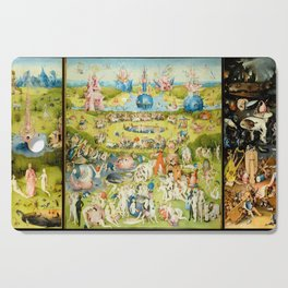 The Garden of Earthly Delights by Bosch Cutting Board