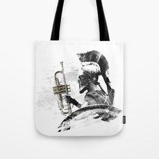 Trumpet Warrior Tote Bag