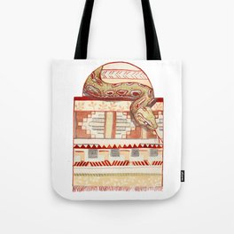 Snake Serape Tote Bag