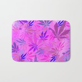 Pink and Purp by Wetpaint420 Bath Mat