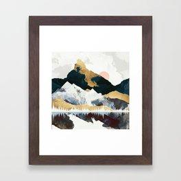 Winters Day Framed Art Print
