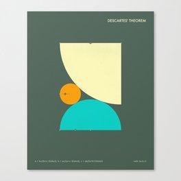 DESCARTES' THEOREM (b) Canvas Print