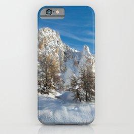 Alpine Mountain, Les Arcs Resort iPhone Case