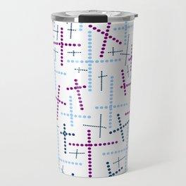 Croisement couleur Travel Mug