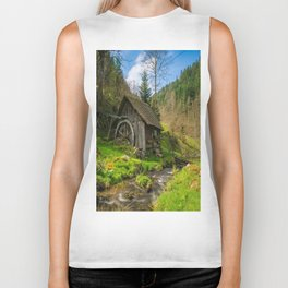 Watermill Life in the Country Biker Tank