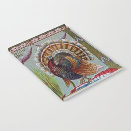 Thanksgiving Greetings 1906 Notebook