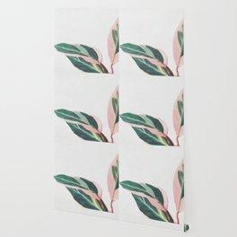 Pink Leaves II Wallpaper
