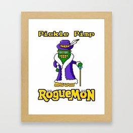 Pickle Pimp Framed Art Print
