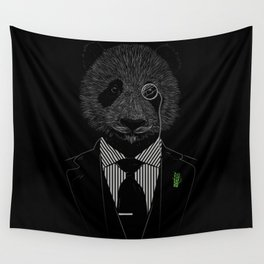 Sir Panda Wall Tapestry