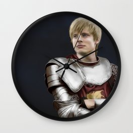 Arthur Pendragon - Once and Future King Wall Clock