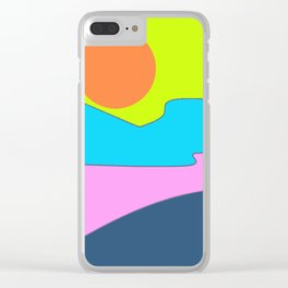 Sunset - 01 Clear iPhone Case