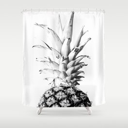 Pineapple 01 Shower Curtain